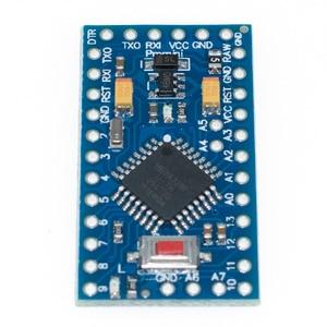 Image 4 - Gratis Verzending! Nieuwe Versie! 50 Stks/partij ATMEGA328P Pro Mini 328 Mini ATMEGA328 5 V/16 Mhz