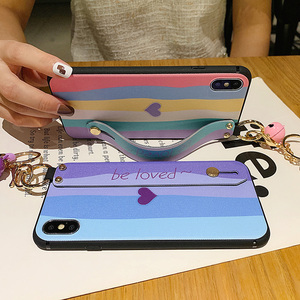 Image 2 - الهاتف حامل حالة ل Xiaomi Redmi ملاحظة 7 7pro ملاحظة 10 8 8pro 9 9s K20 K30 برو k40 مي 9 9T CC9 A3 بوكو X3 X2 المعصم حزام غطاء