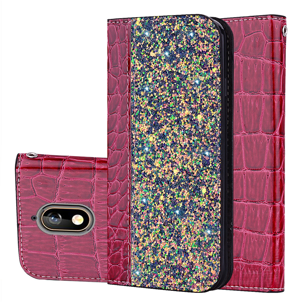 <font><b>Glitter</b></font> Bling <font><b>Cases</b></font> For <font><b>Nokia</b></font> 8.1 <font><b>7.1</b></font> 8 6.1 Plus 3.1 Leather Wallet Magnetic Flip Crocodile Skin <font><b>Case</b></font> For Nokia3.1 TA-1063 Cover image
