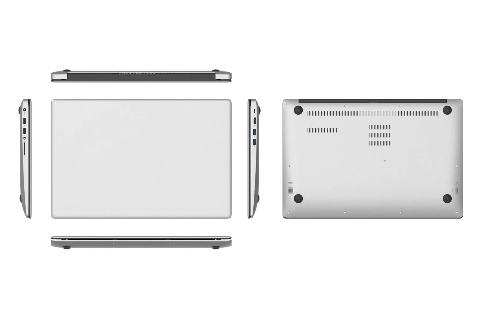 15.6 Inch New Laptop With windows10 System Celeron Processor J3455 8GB+500GB Notbook Computer Mini PC 1