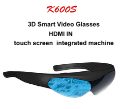 2020 New 3D Glasses K600S all-in-one glasses FPV virtual reality helmet Immersive game Android system integrated machine