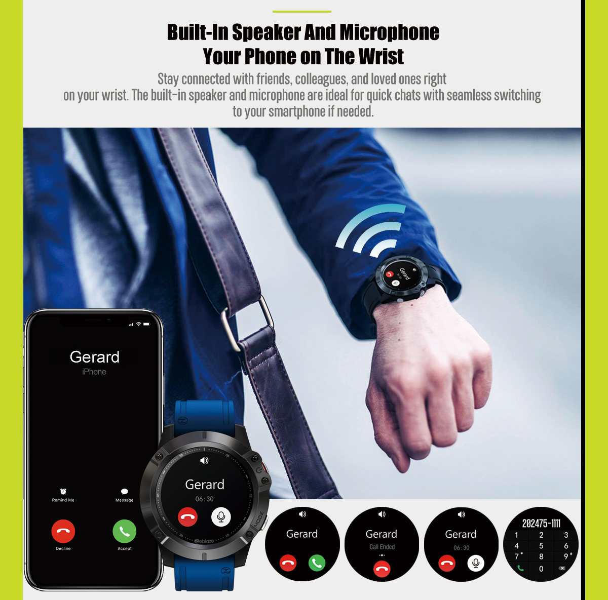 Zeblaze Vibe 6 smartwatch 9