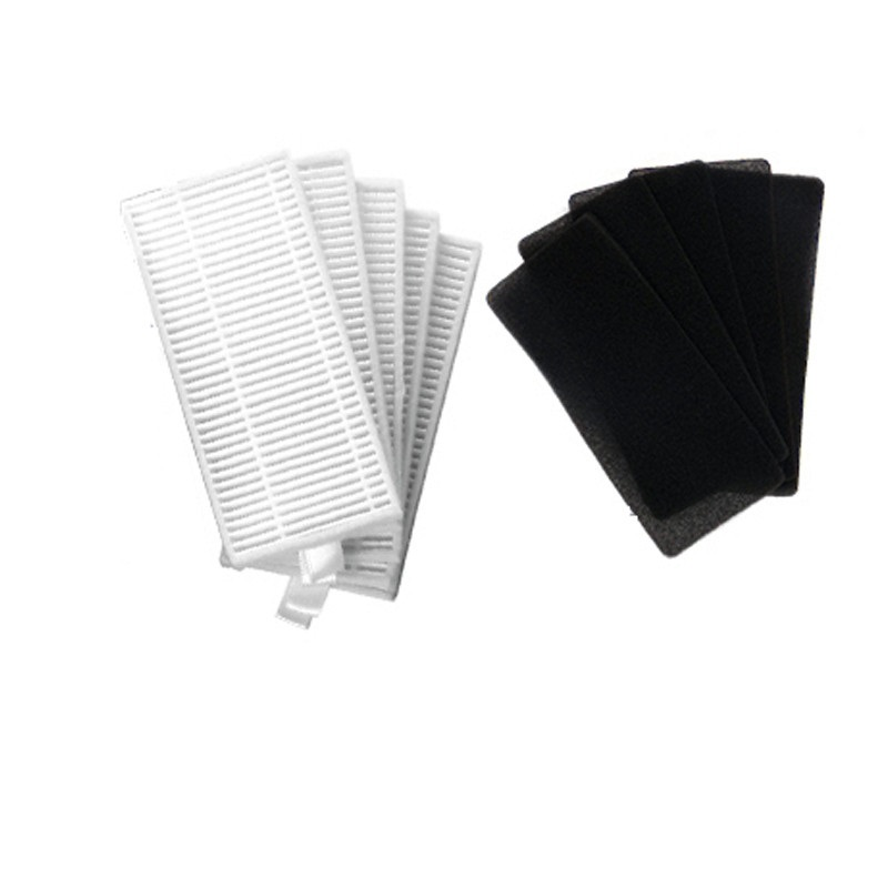 Robot Vacuum Cleaner Filters HEPA Filters Sponge For  CONGA EXCELLENCE 990 5040 Mamibot EXVAC660 Robotic Vacuum Cleaner Parts