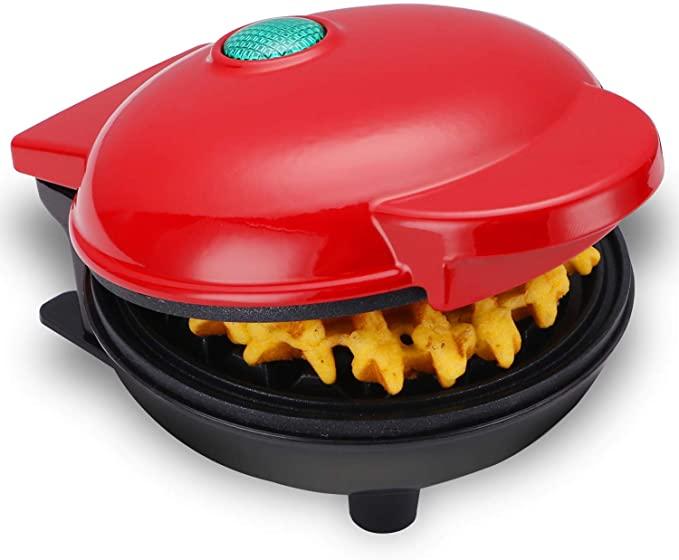 Электрическая мини-машина для приготовления вафель, машина для приготовления яиц и пирожных, машина для приготовления вафель для завтрака, ...