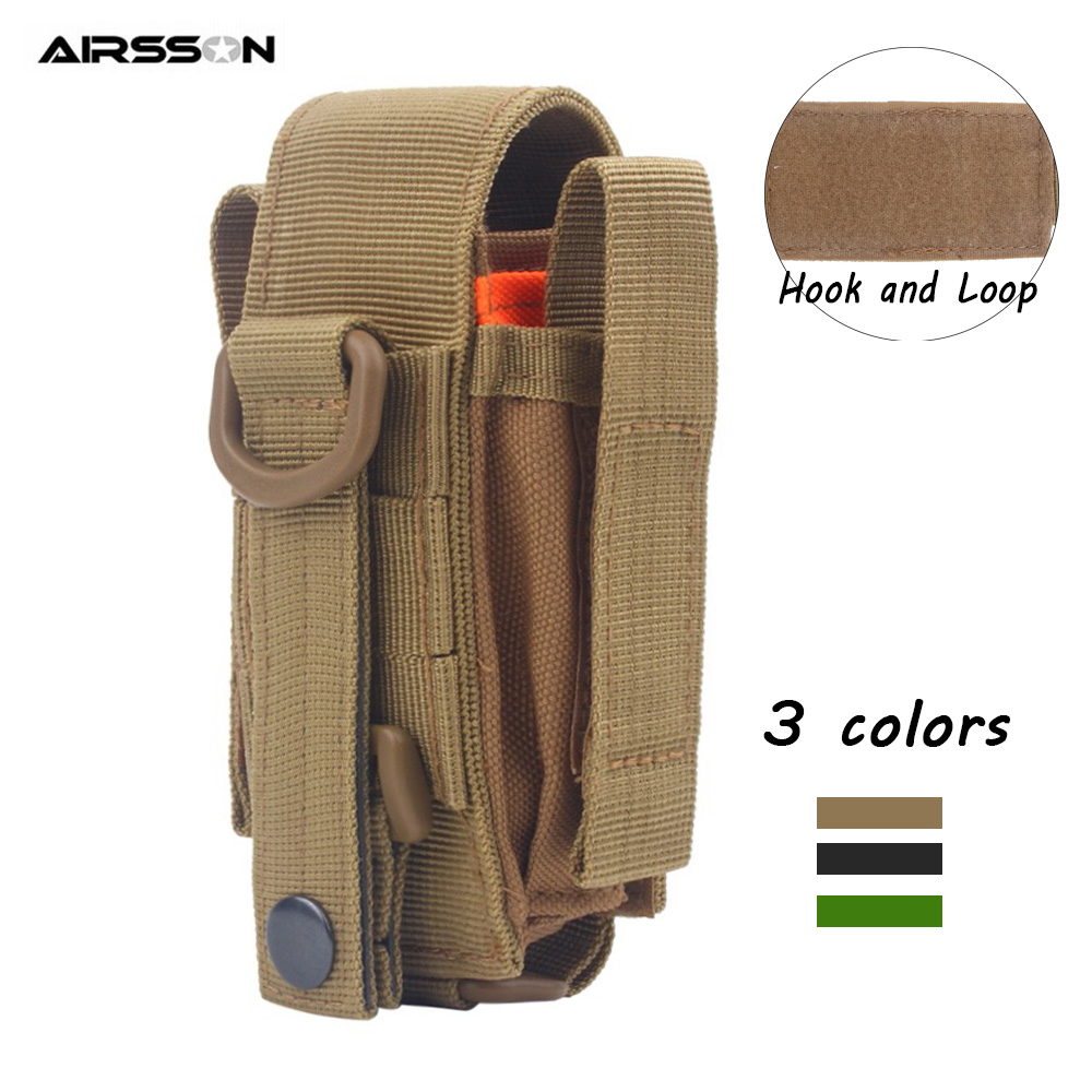 Multifunctional Tactical Pouch Outdoor Tool Storage Bag Utility EDC Gear Flashlight Phone Holder Waist Bag Hunting Accessories