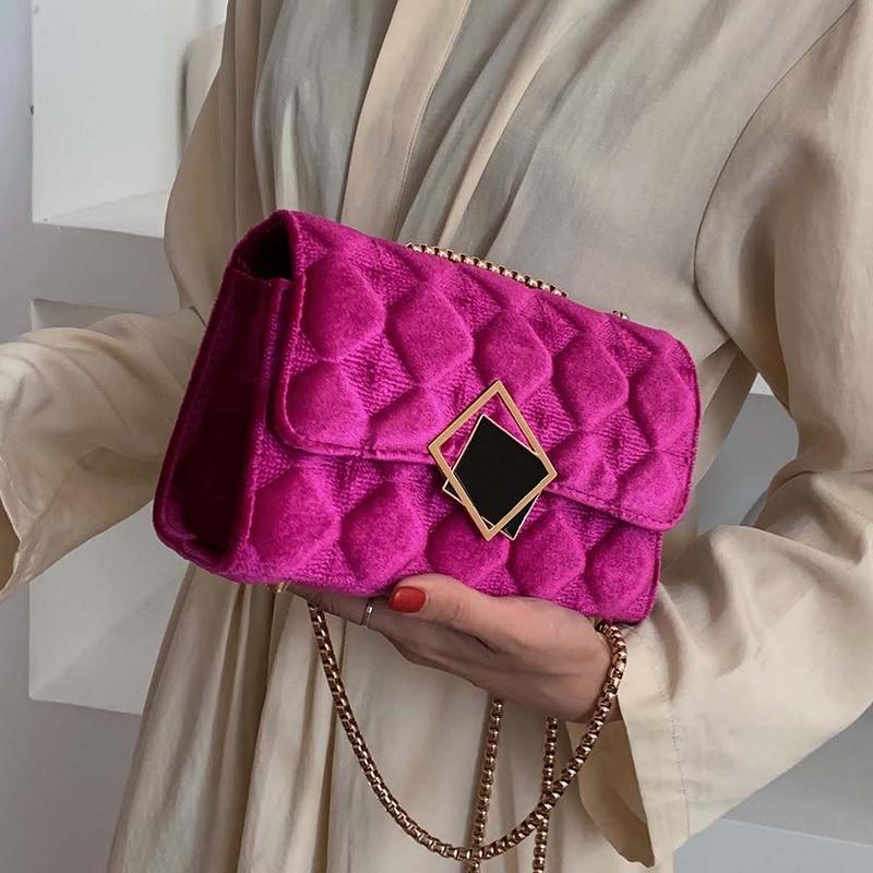 Quality Plush Crossbody Bag