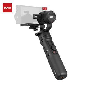 Image 2 - Instock ZHIYUN رافعة M2 Gimbals للهواتف الذكية بدون مرآة عمل كاميرات مدمجة وصول جديد مثبت يدوي