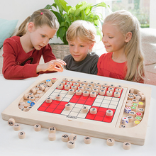 Baby Toy Game and Puzzles Multifunctional Sudoku Flight chess Table Game travel game Educational toy for Children Gifts for kids