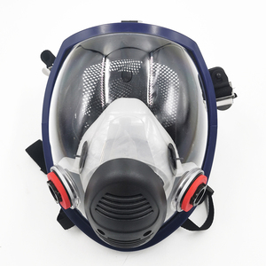 Image 2 - New Arrival Anti Gas Mask Chemical Industrial Painting Spraying Pesticides Respirator Filter Dust Full Face Mask Replace 3M 6800