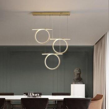 New arrival Modern Led Pendant Light For Dining room Kitchen Living room Office Lamp Luminiares Creative Pvc Ceiling Penant Lamp