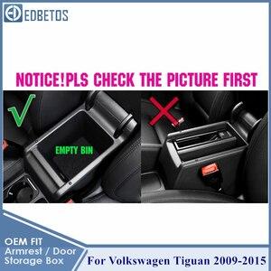 Image 2 - Armrest Glove Storage Box For Volkswagen VW Tiguan 2009 2010 2011 2012 2013 2014 2015 Tiguan Accessories MK1 Console Organizer