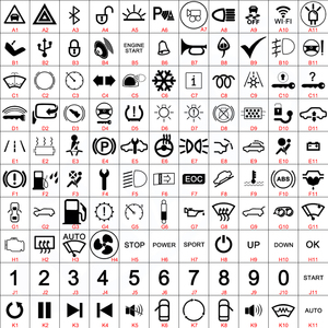 Image 2 - Símbolos de personalização de 19mm, metal, latão, rodio, plataforma, botão de interruptor, lâmpada redonda, latão, luz momentânea para fãs carro carro