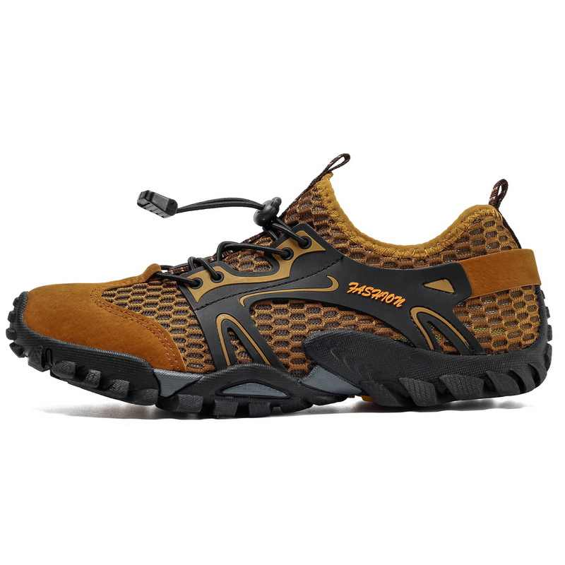 Men Hiking Shoes Summer Quick Dry Water