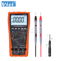 VICI VC87 VSD True RMS Digital Multimeter Temperature Resistance Capacitance Frequency AC DC Voltage Current For Motor Drives