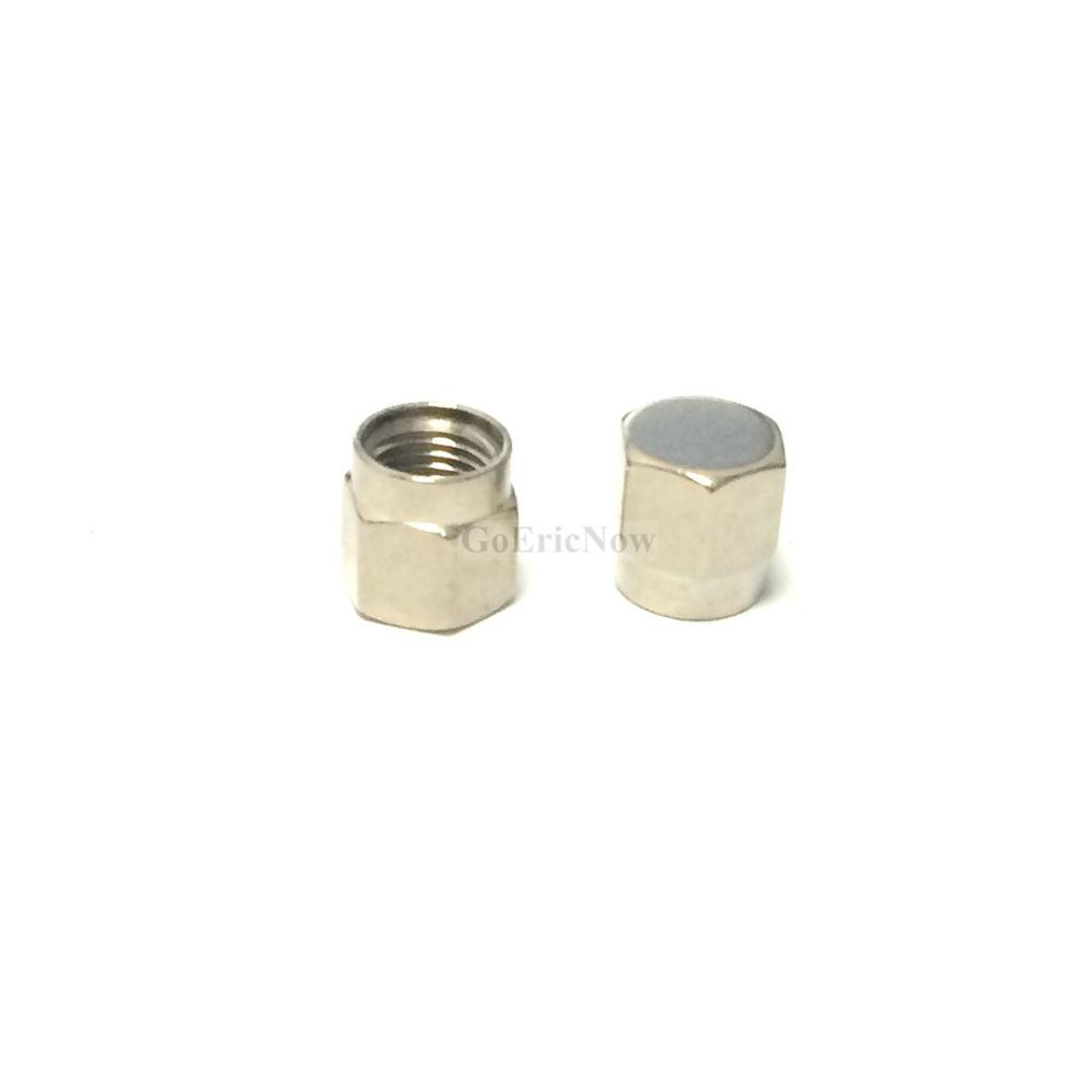Image 3 - 20 pcs /lot RF Connector  SMA Dust cap without chain SMA metal protective cap Connector Plug-in Connectors from Lights & Lighting