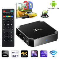 X96 Mini TV BOX Android 7.1 Smart Set Top Box 1GB8GB 2GB16GB Amlogic S905W Quad Core 2.4GHz WiFi 4K HD Online Home Media Player