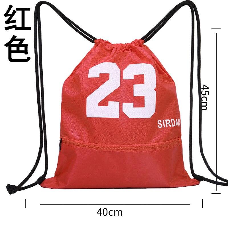 Basketball Bag Sports Bag Fitness Convention Bag Drawstring Single Room Waterproof Sports Men And Women Net Pocket Over-the-shou