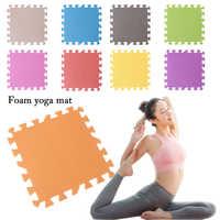 Colchonetas de espuma EVA suaves multicolores, colchonetas de espuma para Yoga y juegos de bebés, baldosas antideslizantes para gimnasio, ejercicio físico, acceso a deportes en el hogar 1 unidad