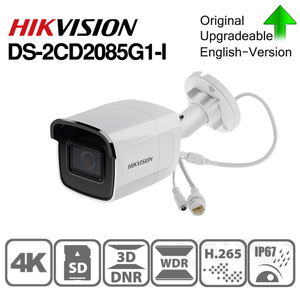 Image 1 - Hikvision Original DS 2CD2085G1 I 8 MP IR Fixed Bullet Network Camera Darkfighter IR 30M,  up to 128 GB IP67, IK10 Poe IP Camera