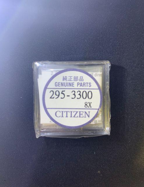 1 pçs/lote 295 3300 nova mt621 cauda longa bateria recarregável luz do tempo relógio bateria recarregável novo e original