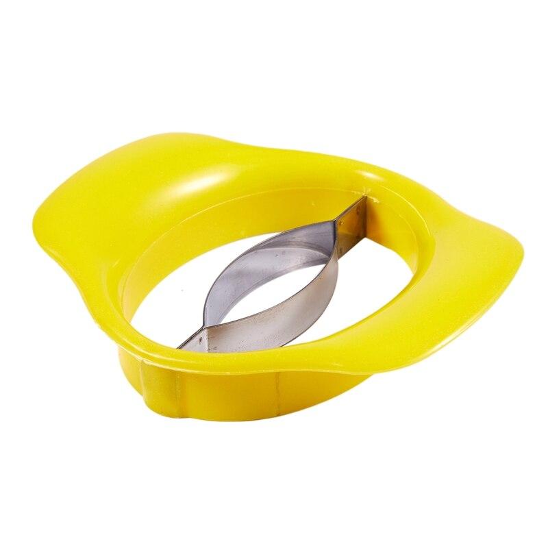 Манго ptter Stoner коронщик резак фрукты измельчитель сплиттер слайсер кухонный инструмент(желтый