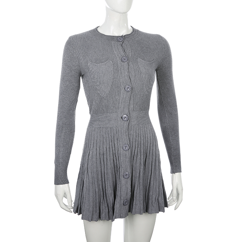Knitted Sweater Dress (9)