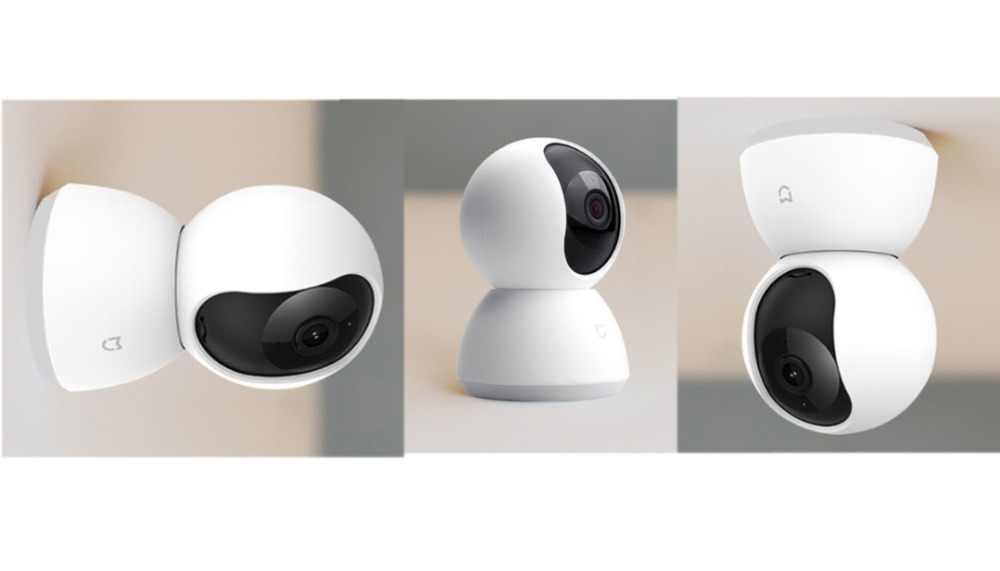 Обновленная версия 2019 Xiaomi Mijia Smart camera веб-камера 1080P WiFi Pan-tilt ночное видение 360 Угол обзора видео камера вид детский монитор