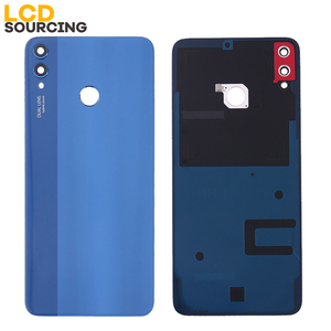 Image 3 - Battery Cover For Huawei Honor 8X Back Glass Battery Housing Cover Replace With Camera Lens For Honor 8x Back Cover Case