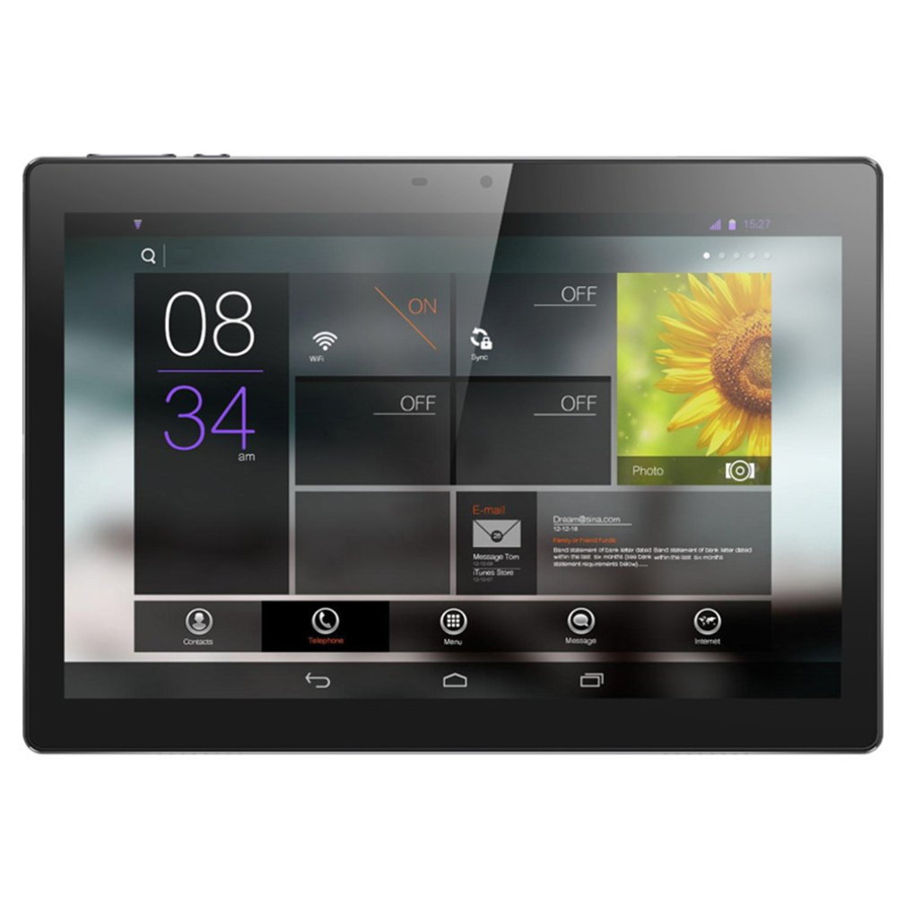 10 Inch Tablet Computer 4G Call Full Netcom IPS HD Screen Android Tablet IPS HD Screen 10-inch Tablet PC Round Hole