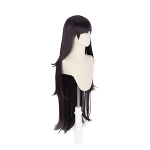 Image 2 - Dangan Ronpa Tsumiki Mikan Long Wig Cosplay Costume Danganronpa Women Heat Resistant Synthetic Hair Halloween Party Wigs