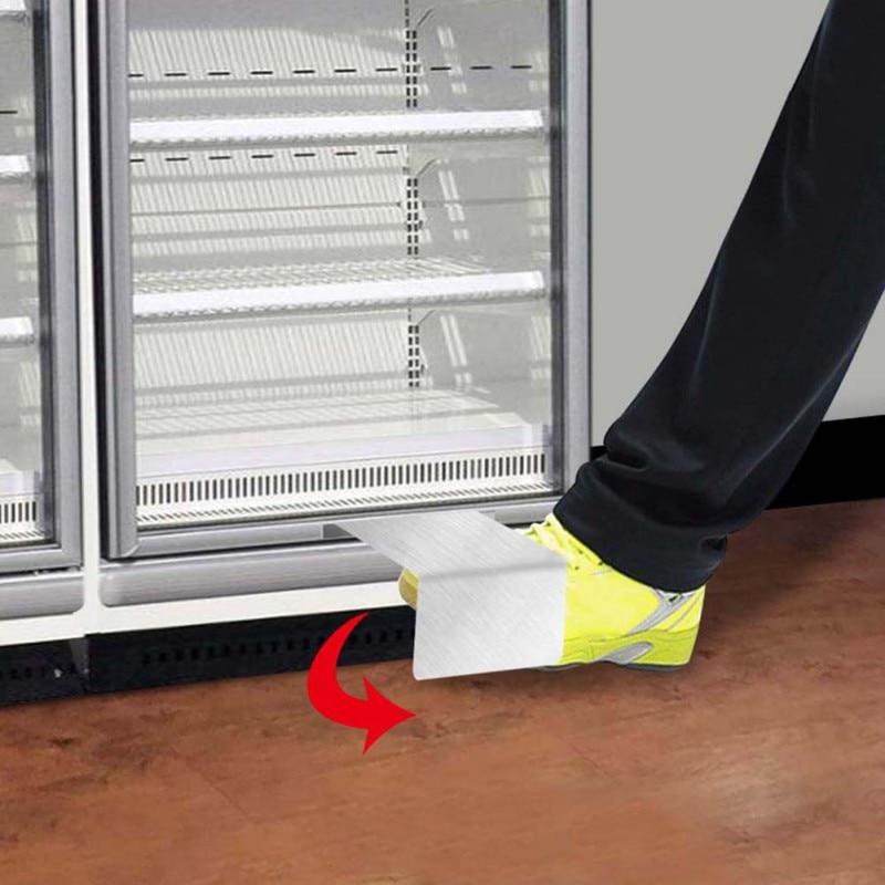 Touchless Hands Free Foot Door Pull Opener Bracket For Office Business Bathroom Door Opener Foot-operated Door Opener