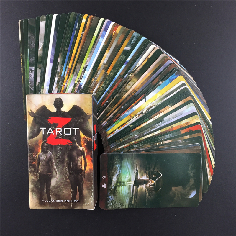 New Z Tarot Card  The Dark Themes Oracle Game Cards Friend Family Party Playing Game Portable Deck Game Tarot Cards