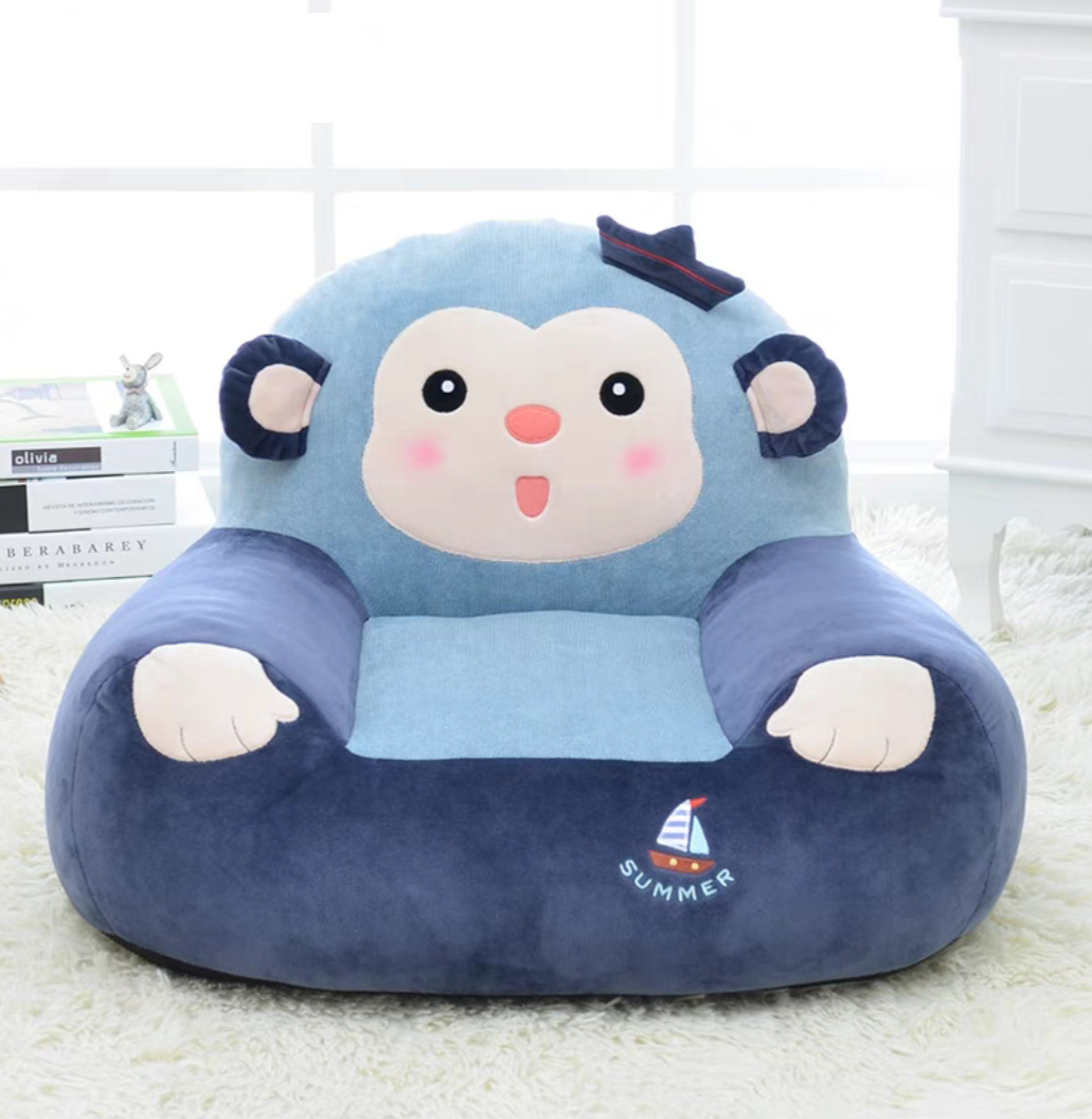 Hot Sale Baby Small Sofa Seat Plush Toy Mini Cartoon Lazy Tatami Child Gift Infant Cartoon Seat Kids Chair Kids Sofa