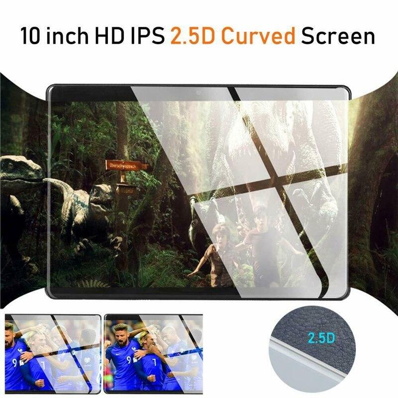 10.1 pouces enfants tablette 2.5D écran Android Quad Core double caméra WiFi éducation jeu cadeau pour garçons filles nous Plug - 2
