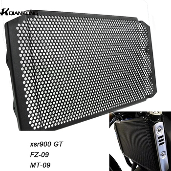 Motorcycle Radiator Guard Grille Cover Cooler Protector For Yamaha XSR 900 MT-09 FZ-09 Tracer 900 GT ABS 2019 2018 2017 2016 15 for yamaha mt09 mt 09 fz09 fz 09 mt 09 2014 2016 motorcycle radiator protective cover guards radiator grille cover protecter