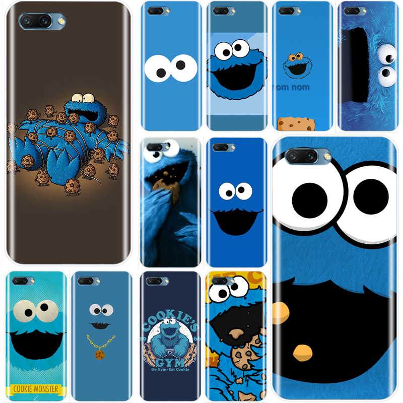 cookie monster cartoon Cover Soft Silicone TPU Phone Case For Huawei Honor 8 8C 9 10 NOTE10 lite MATE 7 8 9 10 20 pro