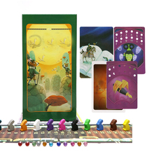 card game tell story deck 1+2+3+4+5+6+7+8 board game, Total 672 cards, wooden bunny toys for kids gift home party game