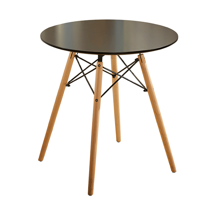 North Europe Family Fashion Dining Table Combination Milk Tea Shop Coffee Shop Leisure Meeting And Simple Round Table