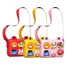 Kids Toys Bag Little Girls Shoulder Bag Children's Backpack Toddler Fashion Satchel Boys Mini handbag Pink Purse Cartoon Wallet