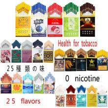 Venda quente de fumo de chá sabor misto homem e mulher cigarros de saúde não contêm nicotina e tabaco