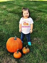Fall Big Sister Shirt Fall Pregnancy Announcement Shirt Baby Halloween TShirt Thanksgiving Baby White T Shirt Fashion Cute Wear(China)