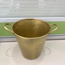 Cangler Products Brass Ice Bucket Champagne Whisky Beer Ice Cooler For Restaurant  Bars Homestay Wine Cooler Bucket Ice Barrel free shipping plastic led ice bucket color changing plastic ice bucket luminous ice pail ice cooler glow beer cask wine barrel