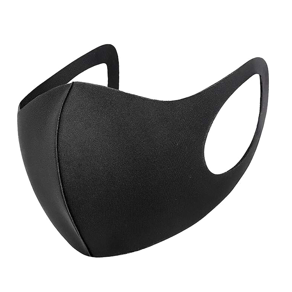 Reusable 3D Unisex Mask Face Shield Wind Proof Mouth Cover Washable Breathable Solid Thin Face Mask Kids Adults