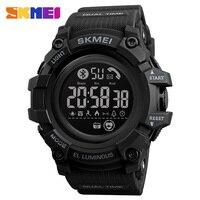 SKMEI smartwatch cifre impermeabili Smart Watch uomo Calorie cardiofrequenzimetro orologio da polso da uomo LED orologio da uomo Relogio Masculino
