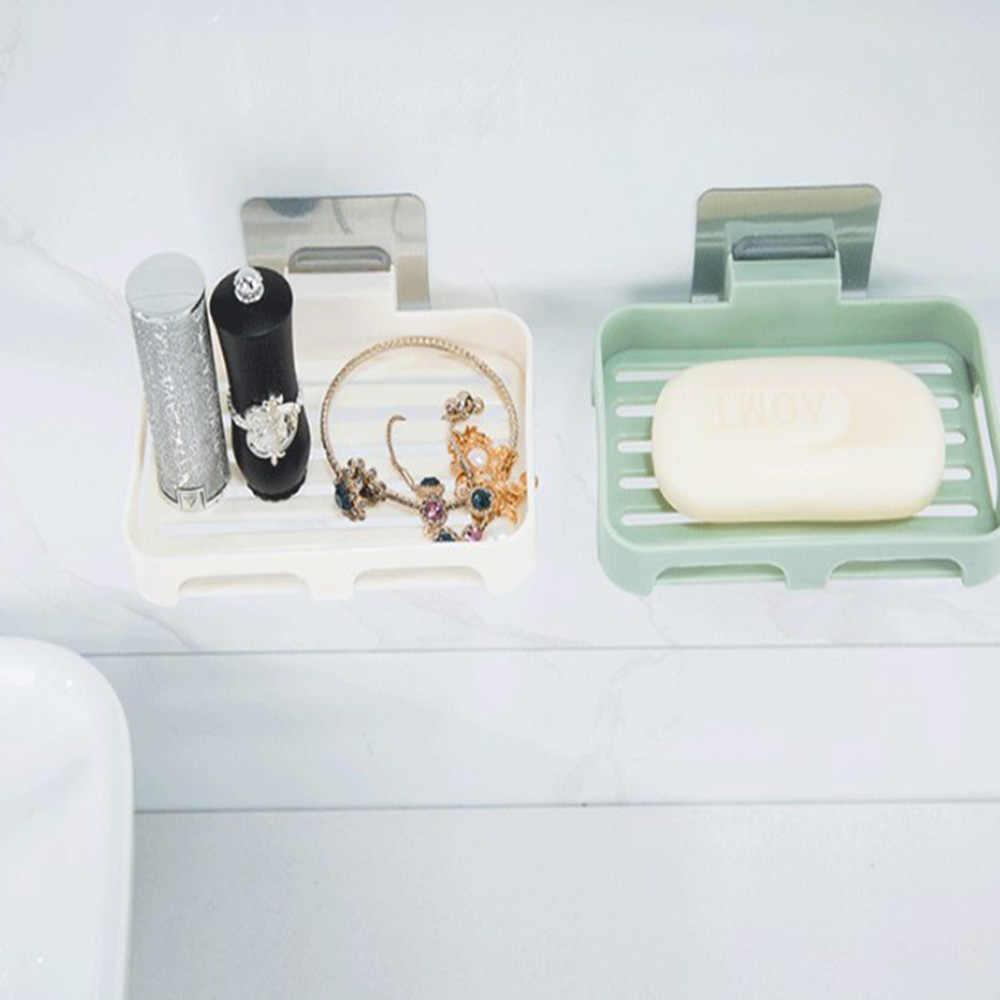 Mydelniczka łazienka stojak do przechowywania płyta mydelniczka tacy ssania uchwyt na mydło Box Case półka ścienna dania kosz akcesoria
