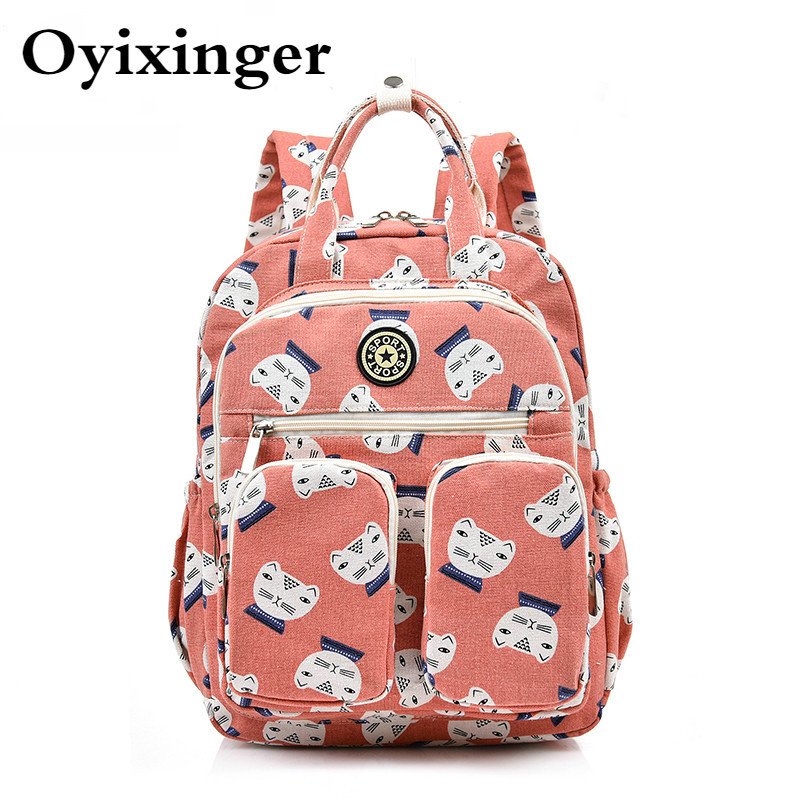 High Quality Women Backpacks Ladies Laptop Anti Theft Backpack Multi-pocket School Bags For Teenage Girls Bagpack Mochila Mujer