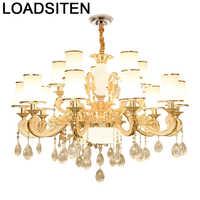 Colgante Modernos Hängen Loft Decor Leuchten Kristall Anhänger Suspension Leuchte Lampen Moderne Luminaria Hängen Lampe