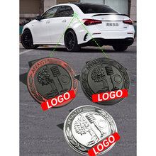 Car Emblem Body Apple Tree C-pillar badge label metal stickers Side Trunk Badge For Mercedes Benz AMG W212 W205 W211 W213 W210