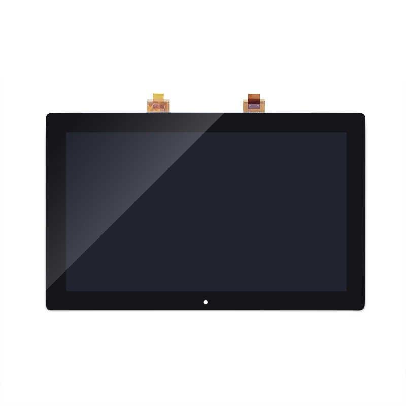 """لمايكروسوفت سطح RT1 1516 2012 10.6 """"شاشة إل سي دي باللمس إحلال تركيبات الشاشة أسود LCD تعمل باللمس ل مايكروسوفت RT1"""