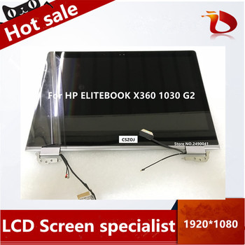 """Free shipping13.3 """" LCD screen display with touch for HP ELITEBOOK X360 1030 G2 FHD 1920*1080"""